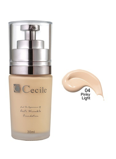 Cecile End The Appearance Of Anti Wrinkle Foundation  05 Ten